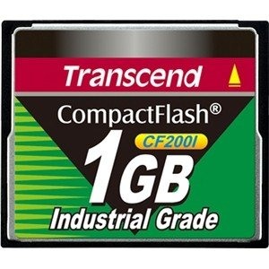 Transcend ts1gcf200i compact flash industriale 1gb 200x
