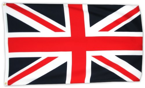 MM Grossbritannien - Union Jack Flagge/Fahne, 150 x 90 cm, wetterfest, mehrfarbig, 16208