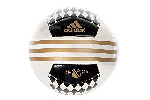 Adidas Lw Ball - white/black/drfogo, Größe:5 (Adidas 6 Ball Größe Fußball)