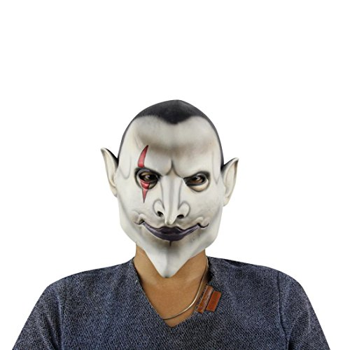 Zolimx Halloween Party Maske Cosplay Terror Kopf Masken