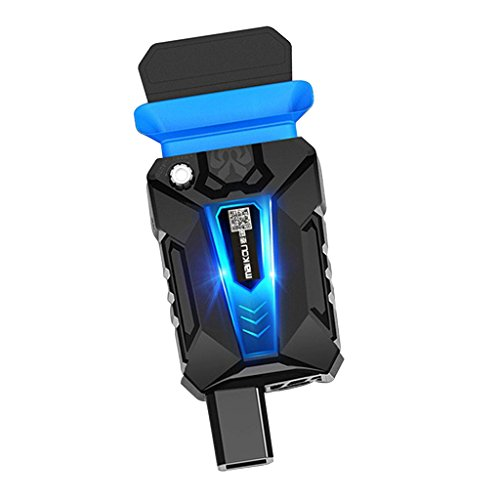 Baoblaze Kleine Größe Vakuum Lüfter Laptop-Kühler USB-Anschluss Universal Notebooks/Laptops Heizkörper Lärmarm Kühlerlüfter Kühlkörper Saugnapf Radiator -