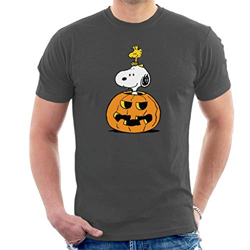 Peanuts Halloween Snoopy and Woodstock Men's T-Shirt