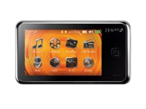 Creative ZEN X-Fi2 8GB 3 inch TouchScreen MP3 and Video Player