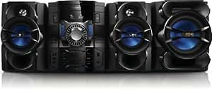 Philips Minichaîne hi-fi FWM6000/10 - ensembles audio pour la maison (3 disques, Carousel disc loader, 500 W, 40 canaux, 25 g, 1030 x 553 x 413 mm)