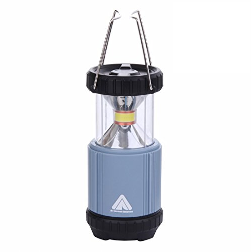 10T COL 300 - helle Camping-Lampe mit 300 Lumen | COB LED 5W | Ø 89 x 123 mm | 342 g Laterne | blau