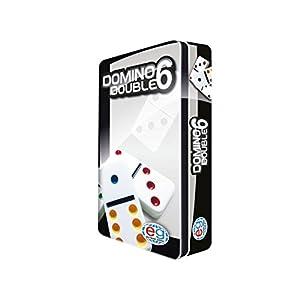 Editrice Giochi 6037243 - Domino Travel con scatola in latta