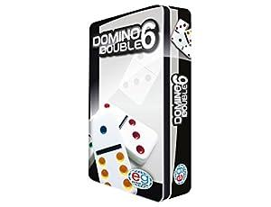 Editrice Giochi 6037243-Domino Travel con Caja de Lata