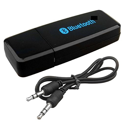 Generic Bluetooth Stereo Adapter Audio Receiver 3.5 mm
