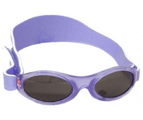 Kidz Banz Lunettes de Soleil - Fleur Violet