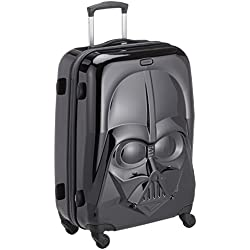 Samsonite - Star Wars Ultimate Spinner Maleta, M (66 cm - 62.5 Litros), Negro (STAR WARS ICONIC)