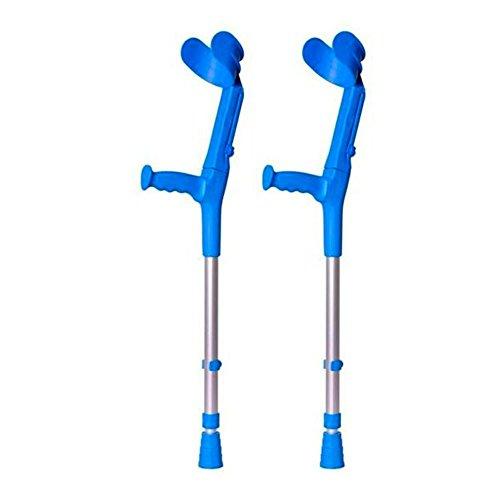 Muletas 2 uds azules infantiles | Fabricadas aluminio