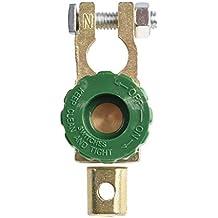 Interruptor de la bateria - SODIAL(R)Interruptor de la bateria enlace conmutador Desconectar de corte rapidamente Coche Camion Piezas de vehiculos Verde (interruptor de la bateria 2)