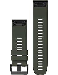 Garmin fenix 5x/3 Silikonarmband QuickFit 26mm green 2017 Zubehör