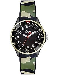 s.Oliver Unisex-Armbanduhr Analog Quarz Silikon SO-2998-PQ