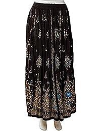 ed2f94063 Amazon.es: Etnica - Negro / Faldas / Mujer: Ropa