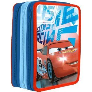 Disney – Disney WD16017 Cars Triple Plumier by Disney