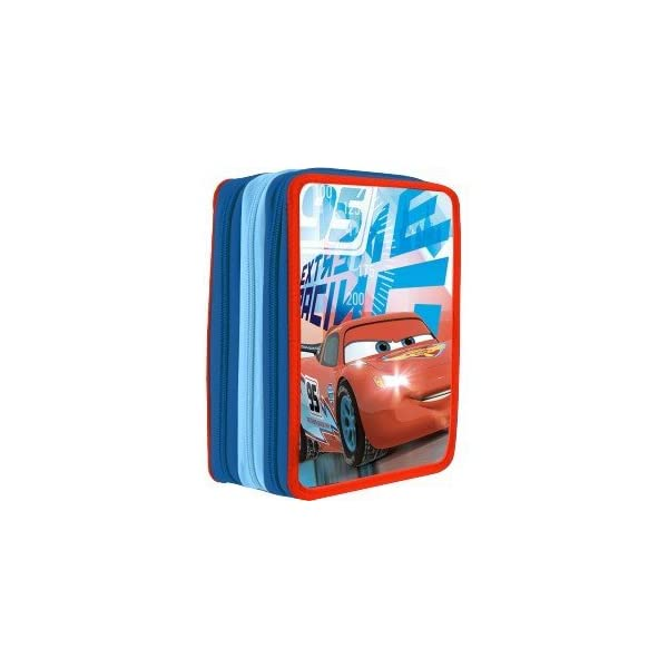 Disney – Disney WD16017 Cars Triple Plumier by Disney