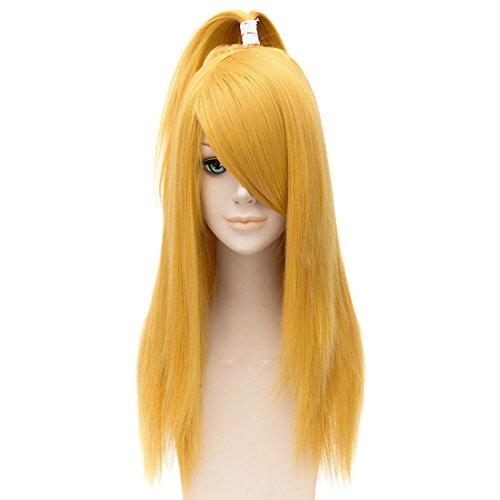 Voll Cosplay Kostüm Animeperücke Cosplay Anime Kostüm Kunstfaser Haar Hitzebeständig Volle Perücke Für Frauen Pferdschwanz Perücke (Anime-kostüme Für Frauen)