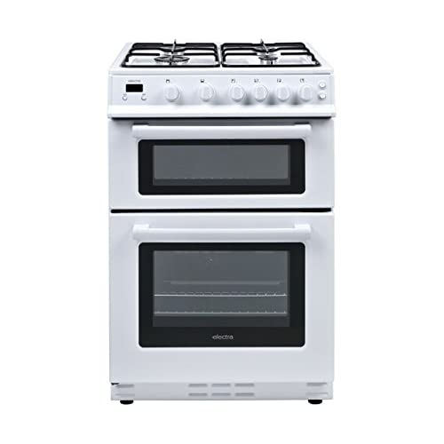 41lvDAegr3L. SS500  - Electra TG60W Freestanding Gas B Rated Cooker -White