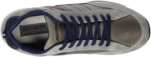 Dockers by Gerli 38av086-201, Baskets Basses Homme Grau (grau/blau 206)