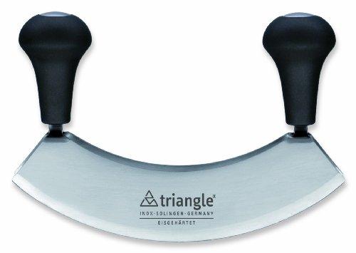 triangle® 41 222 18 02 Wiegemesser 17.5 cm, zweischneidig, gehärtete Qualität