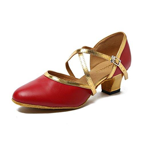 Miyoopark , Damen Tanzschuhe Red-5cm Heel
