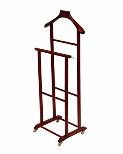 Appendiabito indossatore porta abiti legno massello varie finiture nuovo modello elegance da camera wearer hanger