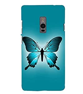 Fuson Designer Back Case Cover for OnePlus 2 :: OnePlus Two :: One Plus 2 (Butterfly Beautiful Butterfly Gorgeous Butterfly Colourful Butterfly Butterflies)