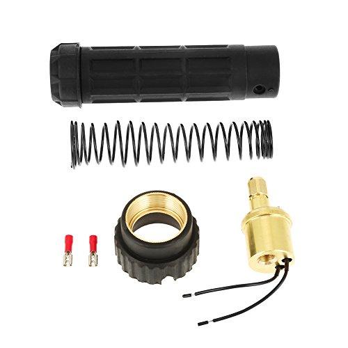 Adapter für Schweißbrenner, Euro-Anschlussstück Messing CO2 Mig-Adapter für Schweißbrenner, Umrüstsatz-Set - Brenner-umrüstsatz