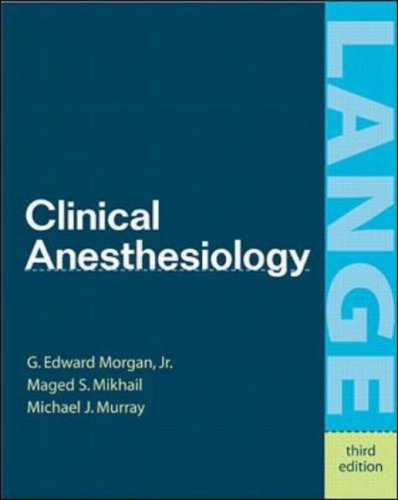 Clinical Anesthesiology (International Students Edition)