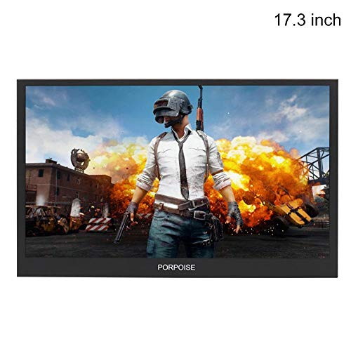 learnarmy Multifunktions-Monitor, 1080p, erweiterter Monitor-Bildschirm, HDMI-High-Definition, tragbares Display, PS3/PS4/XBOX, mit Display-Ständer (13/15,6/17,3 Zoll)