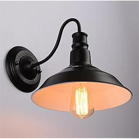 pote Americaniron lámpara de pared del balcón dormitorio de la lámpara de pared pasillo retro estilo