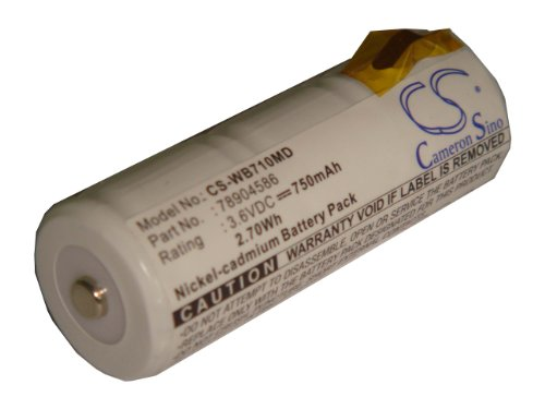 vhbw-bateria-750mah-para-cardinal-medical-cjb-191-welch-allyn-11720-18100-21700-71000-71055-71110-71