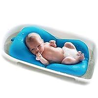 parametri: Nome: Lettino da bagno antiscivolo per neonato Materiale: spandex, particelle di polistirolo per uso alimentare che si riempiono di grande galleggiamento Dimensioni del prodotto: (circa) lunghezza: 54 cm / ...
