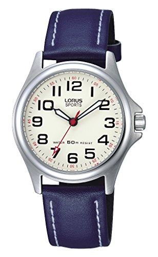 Lorus Reloj Analógico para Unisex de Cuarzo con Correa en Cuero RRS55VX9