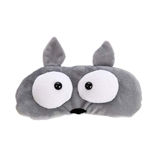 BIGBOBA Antifaz de Viaje Dormir máscaras para Mujer niños Lovely Cartoon pequeño ratón máscara de Ojo (c)