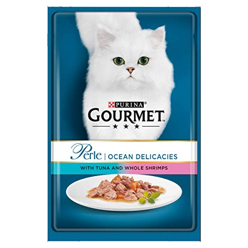 Purina Gourmet Perle Nassfutter Katze, Mini Filets in Soße - 24 Stück - Mini-filets