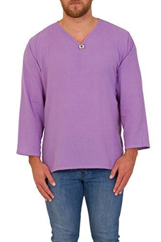 ThaiUK Herren Freizeit-Hemd mehrfarbig mehrfarbig One size Mauve