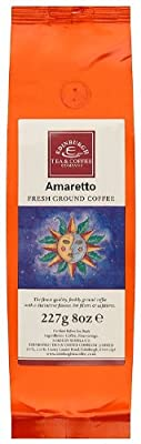 Edinburgh Tea and Coffee Company Amaretto Ground Coffee 227 g (Pack of 3)