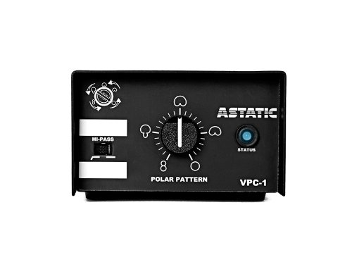 CAD Audio 1600VP Variable Polar Pattern, Hanging Microphone - Black