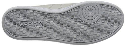 adidas Advantage Clean Qt, Sneakers Basses Femme Gris (Griper/griper/grmeva)