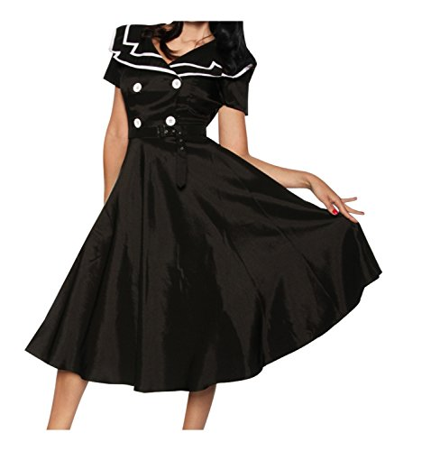 Rockabilly-Kleid von Chic Star S (Bandeau Star)