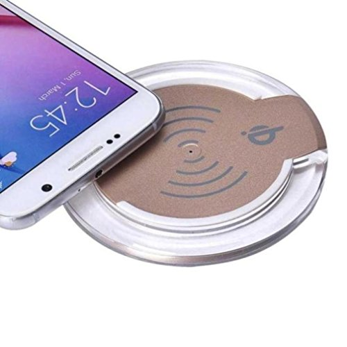 Samsung Galaxy S8 / S8 Plus Drahtloses Ladegerät, OverDose Qi Wireless Ladegerät Ladekabel für Samsung Galaxy S8 / S8 Plus Smartphone (Yeti Gopro Kostüm)