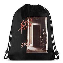 Steve Perry Street Talk Rucksack mit Kordelzug Wandertasche LightweightGym Backpack,