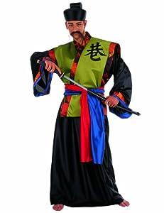 Limit Sport - Disfraz de samurái dorado, para adultos, talla L (MA215)