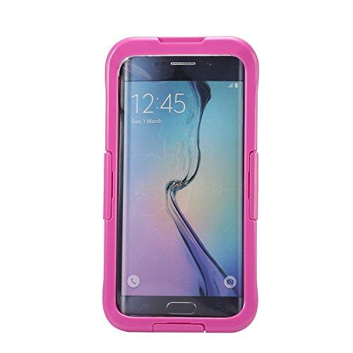 Ultra Thin-IP68Wasserdicht Schutzhülle Unterwasser Schnee stoßfest staubdicht Schutzhülle für Samsung Galaxy S6Edge versiegelt +–Rosen (Phone Number Search Uk)