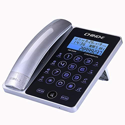 corded phone Touch Screen Telefono Fisso/Telefono con Filo Famiglia Telefono cablato ID chiamante/Chiamata in Attesa Vivavoce