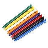 Gazechimp 40 Stk. Bunte Stylus Eingabestift Touch Pen Geeignet mit Nintendo 3DS