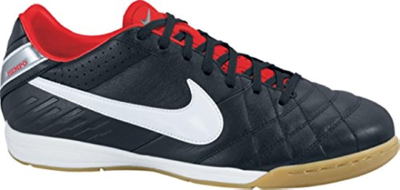 Nike Hallen Fußballschuhe TIEMPO MYSTIC IV IC schwarz