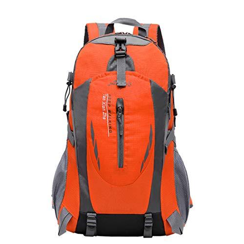 Felicipp zaini durevole e multifunzione climbing travel camping hiking trail tempo libero sport shoulder studente computer bag neutral adatto per l'uso all'aperto (color : orange)